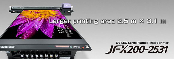 Industrijski plošni UV-LED printer JFX200