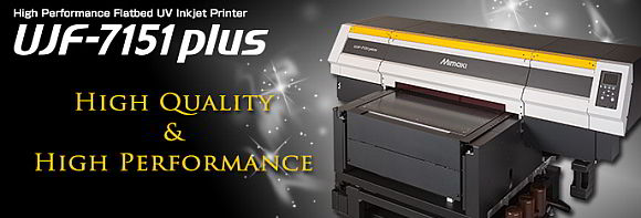 Industrijski UV-LED printer UJF-7151 plus